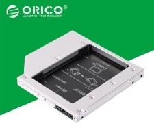 Khay lắp ổ SSD Orico L127SS cho laptop qua khay CD -Dày