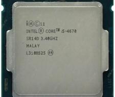 Chip (cpu) core i5-4670 socket 1150 cũ giá rẻ