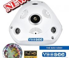 Camera Wifi Yoosee VR 360 nhìn toàn cảnh Full HD chính hãng
