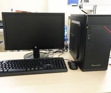Bộ máy tính Cpu i5-2400,Ram 4G,SSD 120G,Màn hình 20inch
