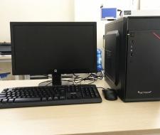 bộ máy tính Cpu i5-4570 ,Ram 4G,SSD 120G,Màn hình 20inch