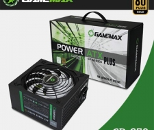 Nguồn GAMEMAX GP-650 650W -80 Plus Bronze