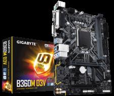 Mainboard Gigabyte B360M-D3V Socket 1151 Mới Giá rẻ nhất
