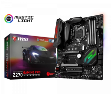 Mainboard Msi Z270 pro gamming cacbon renew