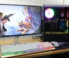 Bộ máy tính chơi PUBG, Màn hình 22 inch Full viền (New)