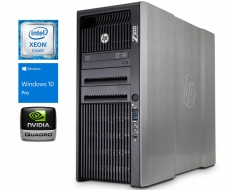 Hp WorkStation z820/ Xeon E5-2690, Quadro K4200 4GR5, SSD 240G, Dram3 32Gb + HDD 2Tb